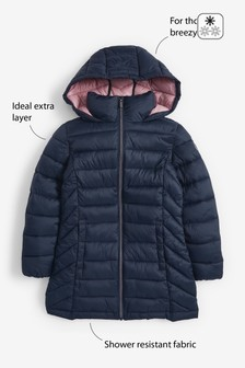 Shower Resistant Lightweight Padded Jacket (3-16yrs)