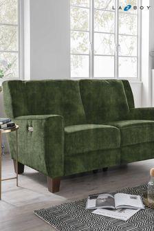 Hazel Small Recliner Sofa by La-Z-Boy