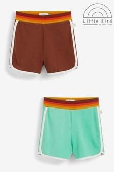 Little Bird Unisex 2 Pack Shorts