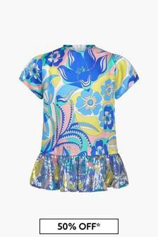 Emilio Pucci Baby Girls Multi Dress