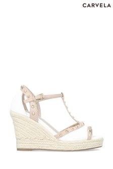 Carvela White Stark Sandals