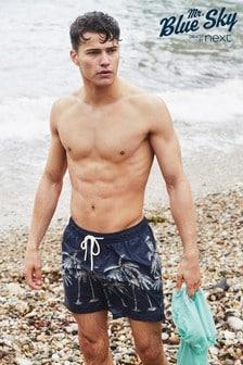 Mr Blue Sky Organic Cotton Blend Swim Shorts