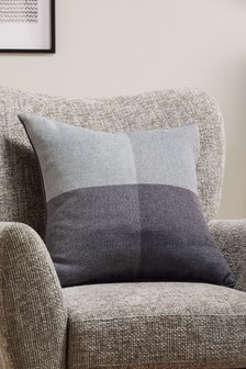 Locksley Woven Check Cushion