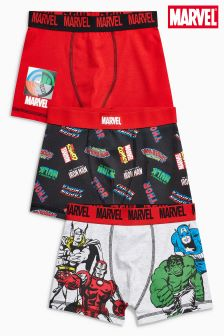 Marvel® Trunks Three Pack (2-12yrs)