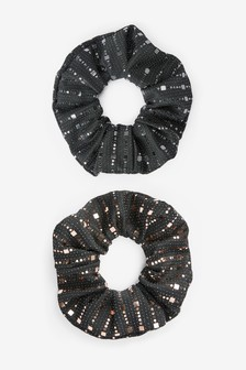 Sparkle Scrunchies Two Pack