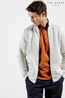 Ted Baker Sirkit Quilted Zip Through Layering Top