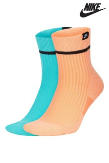 Nike Neon Crew Socks 2 Pack