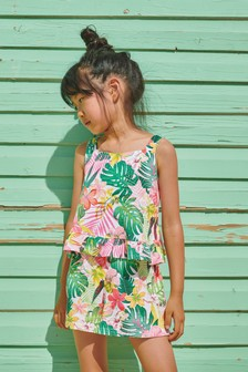 Vest And Shorts Co-ord Set (3-16yrs)