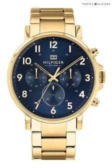 Tommy Hilfiger Watch With Gold Plated Bracelet