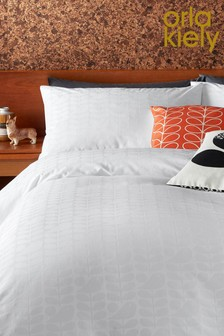 Orla Kiely Ditsy Early Bird Jacquard Cotton Duvet Cover