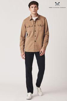 Crew Clothing Company Tan Over Shirt Classic Shirt