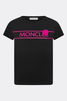 Moncler Enfant Girls Cotton T-Shirt
