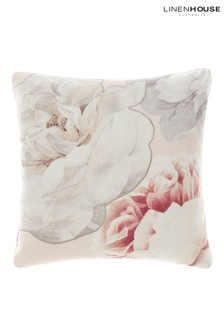 Sansa Large Floral Cushion by Linen House