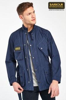 Barbour® International Navy Summer Wash Jacket