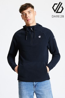 Dare 2b Grey Forgo Half Zip Hooded Fleece
