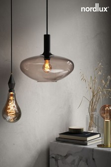 Retro Deco Globe Gold Finish 35W E27 Bulb by Nordlux