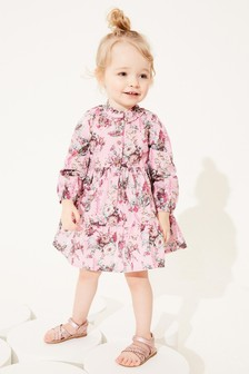 Cotton Tiered Dress (3mths-7yrs)