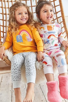 2 Pack Character Snuggle Pyjamas (9mths-8yrs)