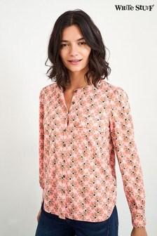 White Stuff Pink Fenella Shirt