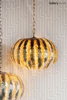 Daphnie Gold Pendant Light by Gallery Direct