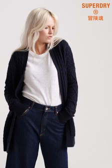 Superdry Lannah Cable Cardigan