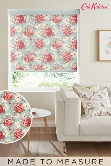 Cath Kidston Red Rose Bloom Multi Made To Measure Roller Blind