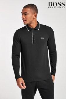 BOSS Pleesy Long Sleeve Poloshirt