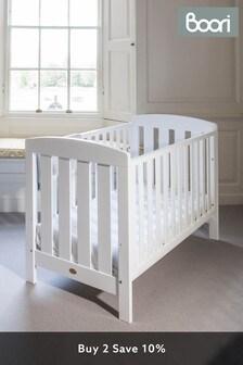 Boori Alice White Cot Bed