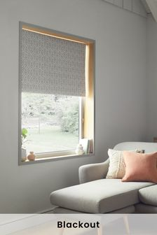 Diamond Geo Blackout Roller Blind