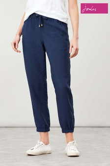 Joules Blue Cecelia Pull On Trousers