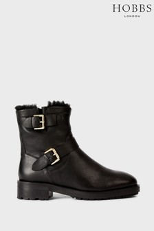 Hobbs Black Phillipa Ankle Boots