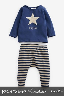 Personalised T-Shirt & Leggings Set