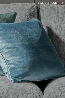 Dark Seaspray Nigella Cushion