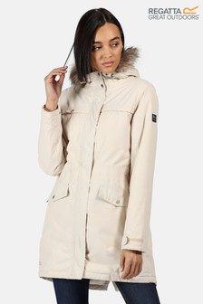 Regatta Cream Serleena II Waterproof Jacket