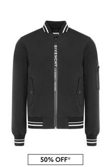 Givenchy Kids Boys Black Jacket