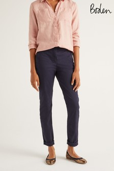 Boden Blue Daisy Chino Trousers