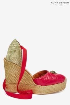 Kurt Geiger London Karmen Red Sandals