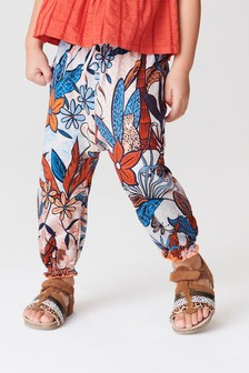 Jungle Print Traveller Pants (3mths-8yrs)