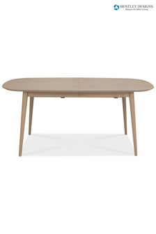 Dansk Scandi 6 Seater Extending Dining Table by Bentley Designs