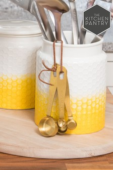 Kitchen Pantry Brass Measuring Spoons