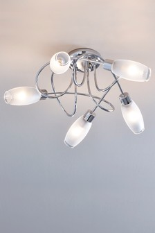 Capri 5 Light Flush Fitting