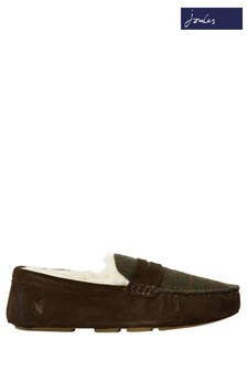 Joules Brown Moccasins