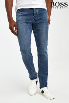 Boss Blue Taber Tapered Jeans