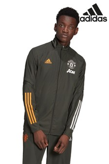 adidas Green Manchester United 20/21 Pre Jacket
