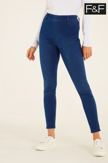 F&F Indigo Jeggings