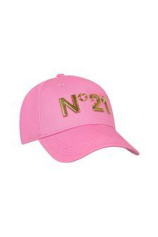 N°21 Girls Pink Cotton Cap