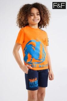 F&F Nerf T-Shirt And Short Set