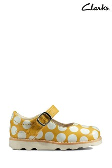 Clarks Yellow Interest Crown Jump T Shoes