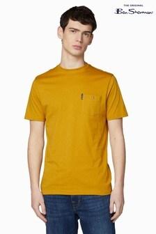Ben Sherman® Yellow Signature Pocket T-Shirt