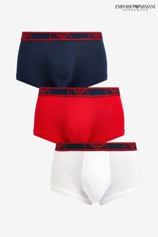 Emporio Armani Trunks Three Pack